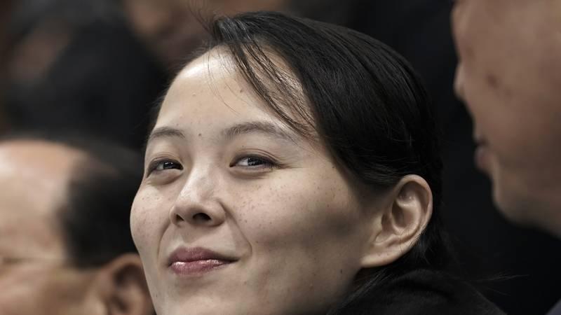 La influyente hermana del líder de Corea del Norte, Kim Jong Un, descartó el martes que se...