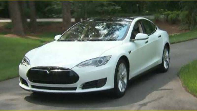 Hertz now rents the Tesla for about $500 a day. (Source: CNN)