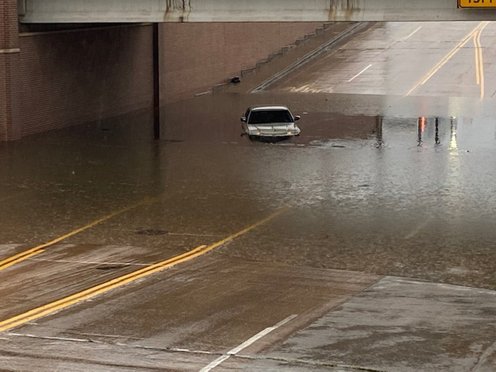High and Cotton Street flooding