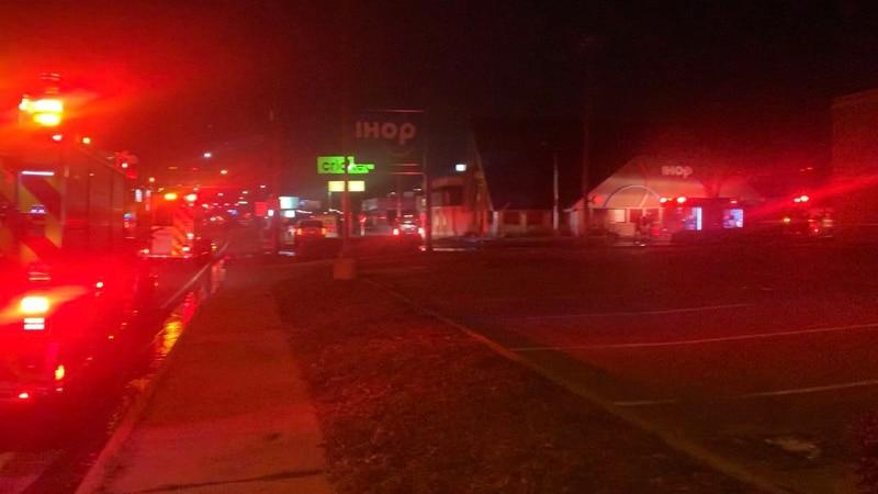 Tyler emergency crews responding to fire at IHOP restaurant
