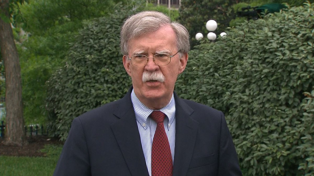 Former national security adviser John Bolton is planning to publish his White House memoir in...