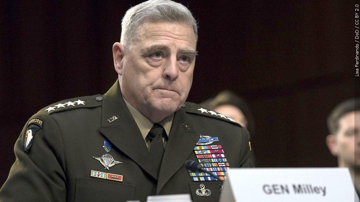 Mark A. Milley, general del Ejército.
