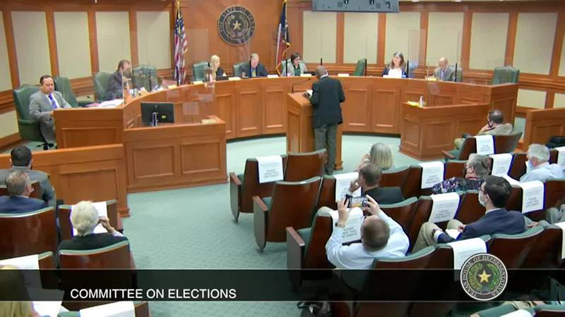WATCH: Rep. White presents ballot paper trail bill to committee