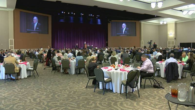 The 2020 Tyler Area Chamber of Commerce Annual Meeting.
