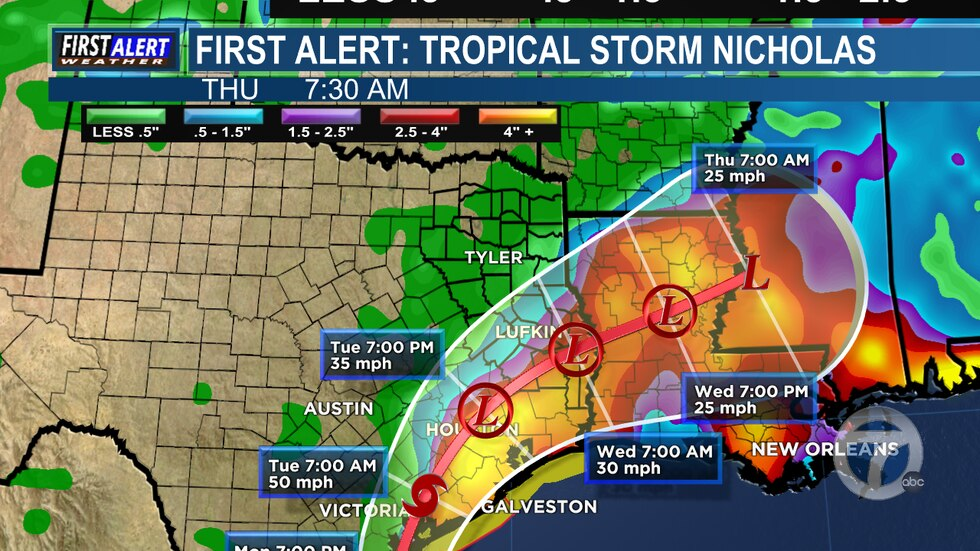 First Alert Weather Days have been issued for portions of Deep East Texas through at least Noon...