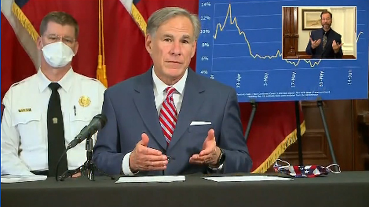 Governor Greg Abbott shares the state's response to COVID-19.