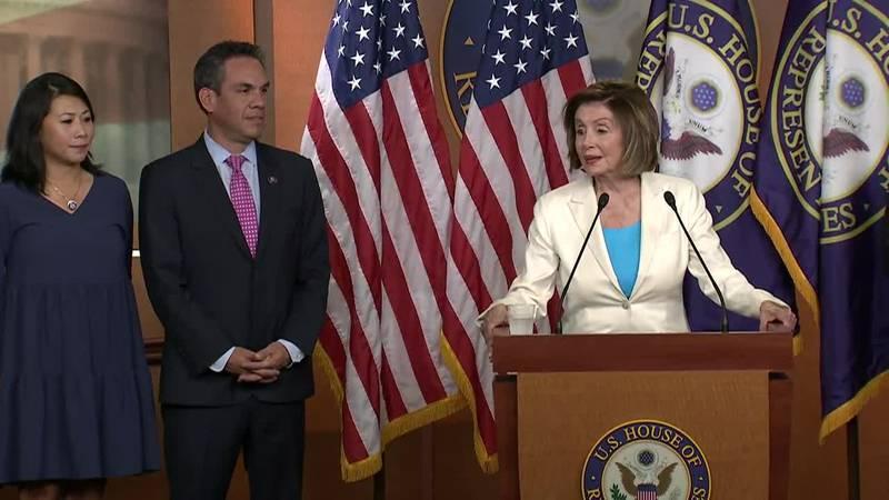 La presidenta de la Cámara de Representantes, Nancy Pelosi, anunció que la representante Liz...