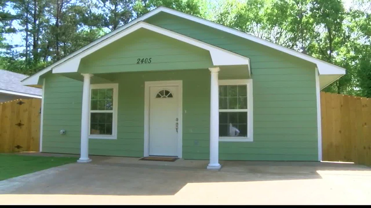 Homes for Texas Heroes is a grant the Northeast Texas Habitat for Humanity received from the...