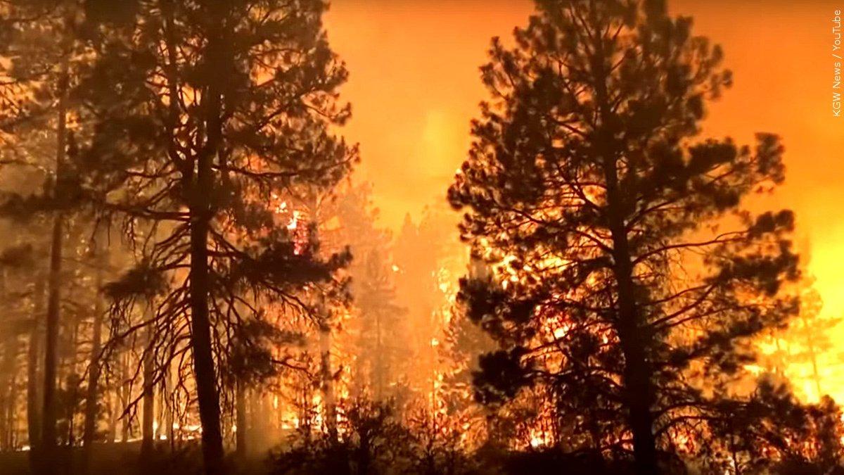 Bootleg fire in Oregon.